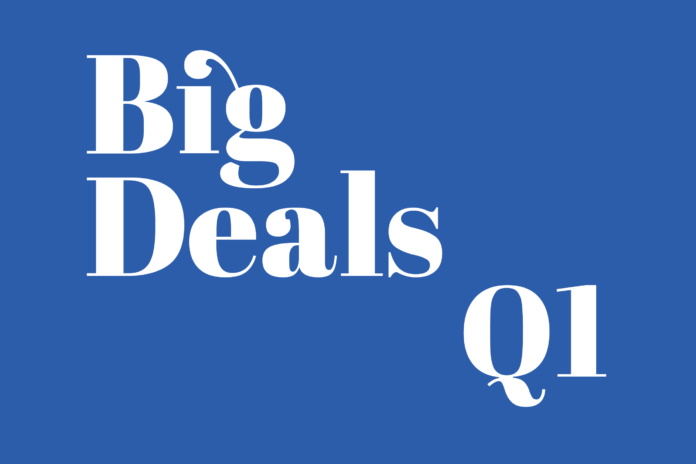 Big Deals Quarter One