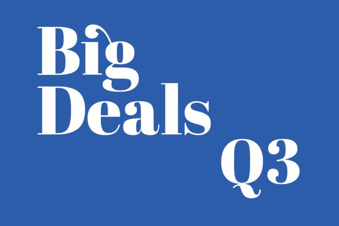 Big Deals Quarter Three
